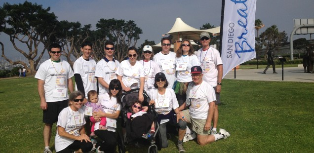 Team Lisa at 'San Diego Breath of Hope'