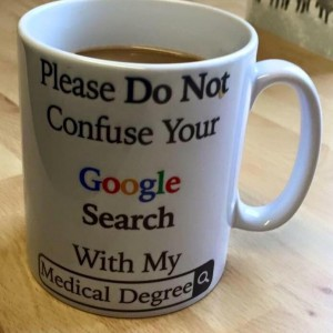 Nope, nope, nope. I would not be ok with my doctor having this mug.