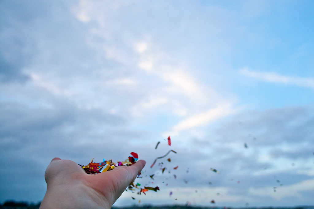 Confetti by Judit Klein